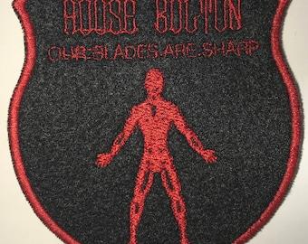 medallion of house bolton etsy