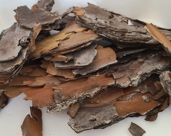 Organic Pine Bark use in Fairy and Gnome Gardens & Terrariums. Raw Craft Supplies.