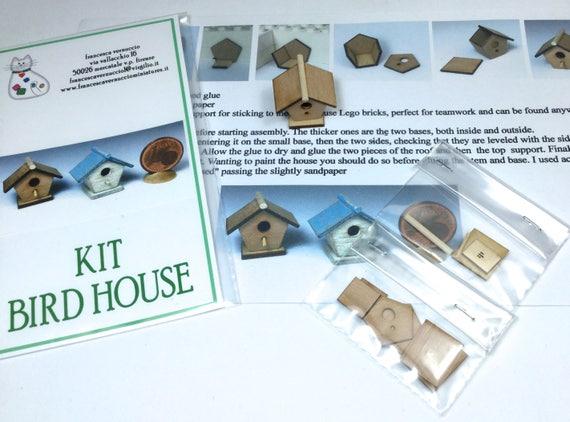 Kit per la costruzione di una casa di piccolo uccello scala etsy - Costruzione di una casa ...