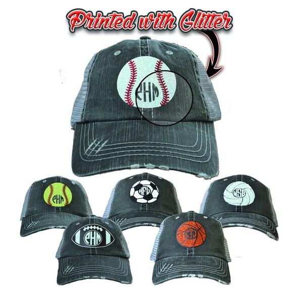 357200b797b Vintage Monogram Glitter Sport Hat WAS 33.25 NOW 19.95