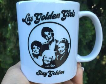 Las Golden Girls Mug Mas Masa Edition