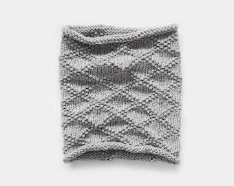 KNITTING PATTERN • Cowl Knitting Pattern • Scarf Knitting Pattern