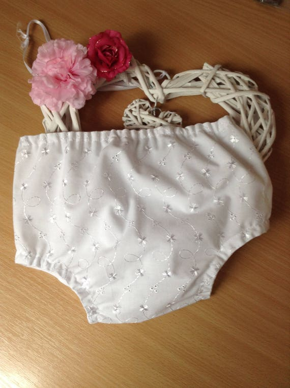 """Debs WHITE PINK Polka Dot Underwear Panties Doll Clothes For 18/"""" American Girl"""