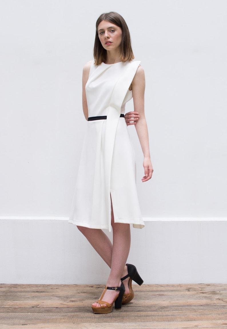 f6f21e61922 SALE 30% Off Minimalist Dress Minimal Wedding Dress Boho