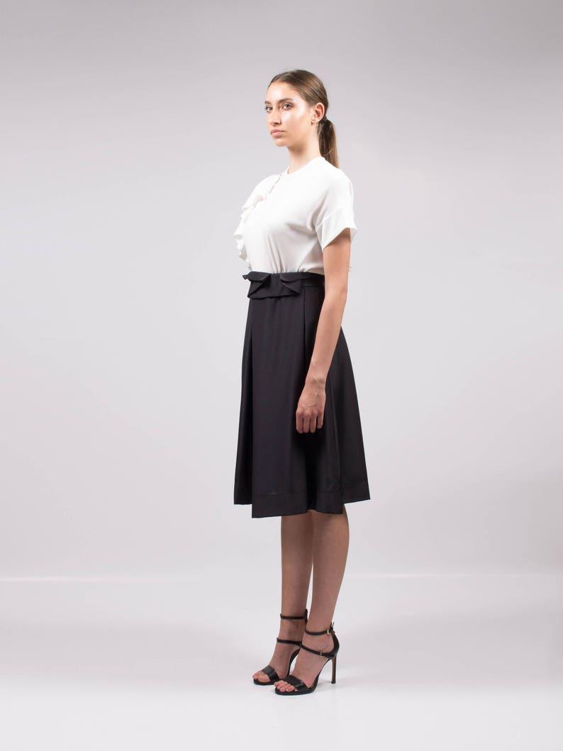 af56a186d8b Black skirt High waisted skirt Elegant skirt Office skirt