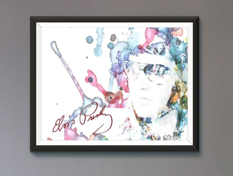c9e5ee43c9bf6 Elvis Presley Poster Original Design