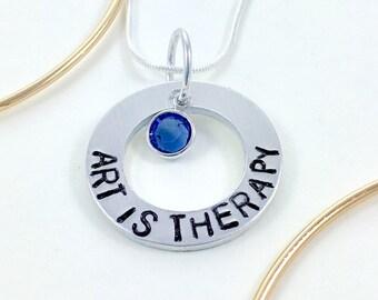 Art teacher gift art teacher necklace, Personalized teacher gift, School teacher appreciate gift for teacher, Gift for Teachers end of year