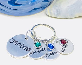 Gift for grandma, Personalized grandparent gift, Gift for grandparent,  Grandparent jewelry, Great grandparent, New grandparent