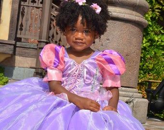 Rapunzel, Tangled dress, princess Rapunzel, birthday dress
