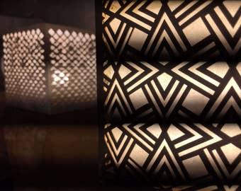 Lampe, Série « Art déco »