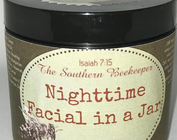Nighttime Facial in a Jar