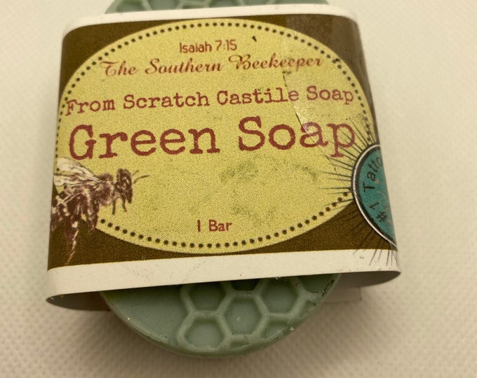 Green Soap (For Tattoo's)