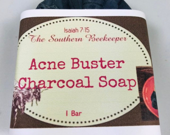 Acne Buster Charcoal Soap