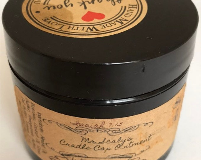 Mr. Scaly's Cradle Cap Ointment
