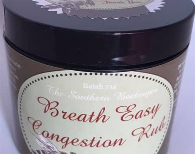 Breathe Easy Congestion Rub