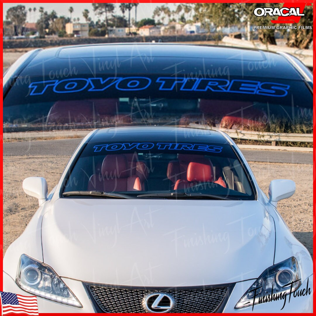 """40/"""" Fresh /& Clean JDM Racing Simply Import Car Decal Sticker Windshield Banner"""