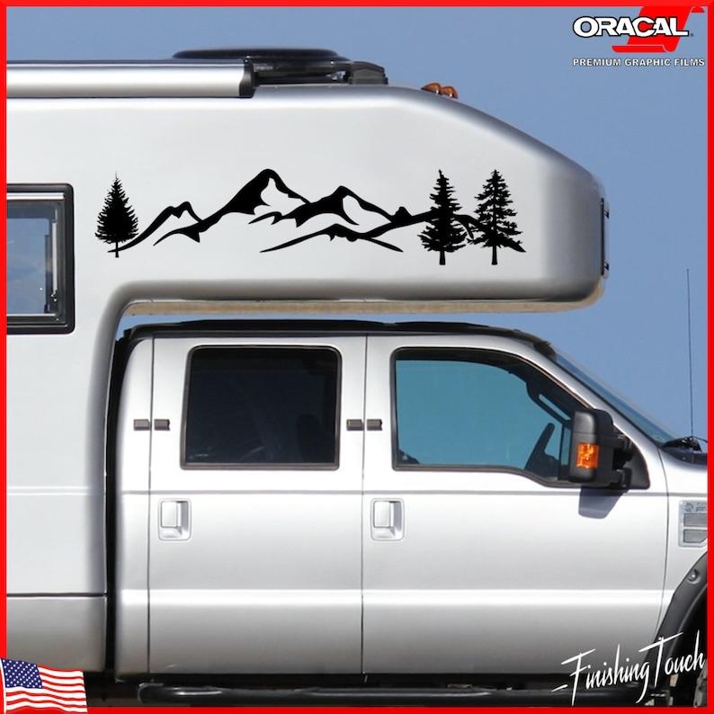 138 Camper Van Graphics Motor Home Vinyl Graphics Kit Decals // Stickers.