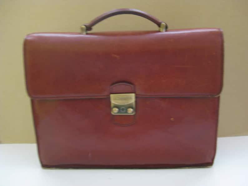 abe4bd9ffb51 Magnificent brown leather LE TANNEUR messenger bag, school bag.