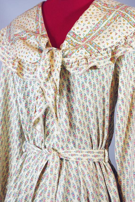 1920s  Dress / Vintage Pleated Dress. Day Dress. … - image 2