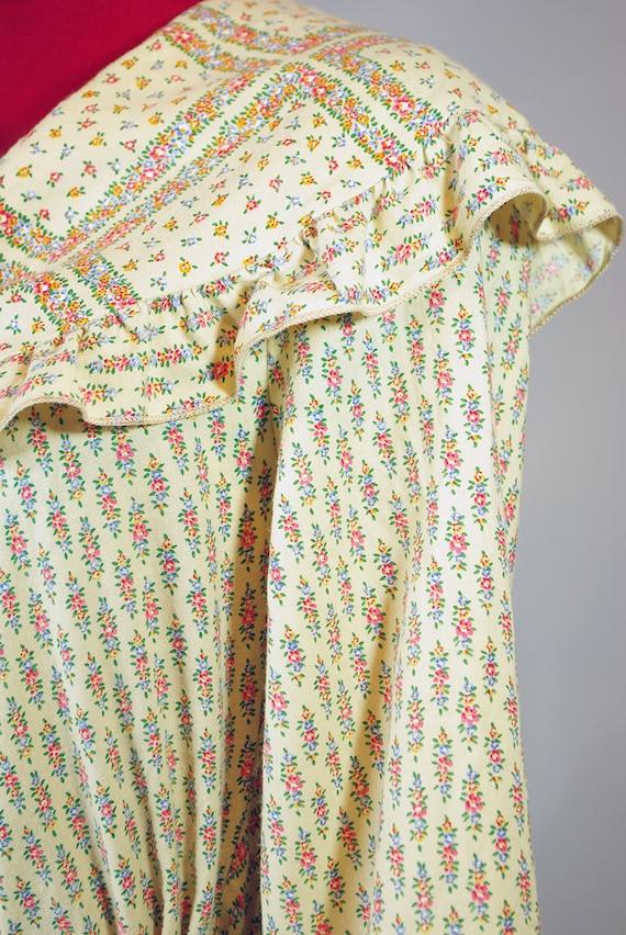 1920s  Dress / Vintage Pleated Dress. Day Dress. … - image 3