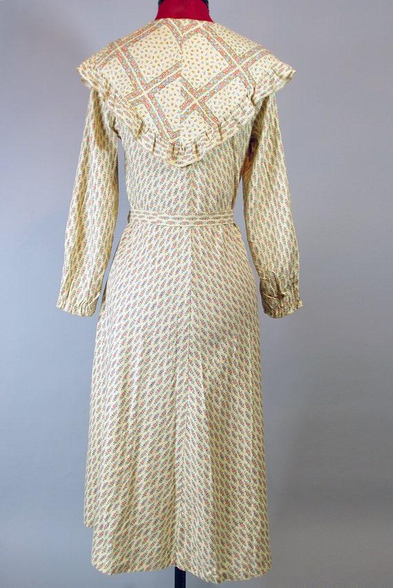 1920s  Dress / Vintage Pleated Dress. Day Dress. … - image 4