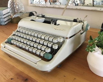 Olympia SM5 portable typewriter, deco piece only