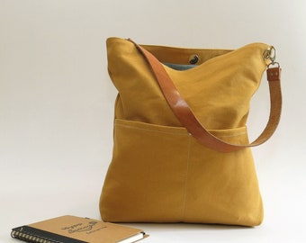 Mustard Yellow Hobo bag efea001602fea