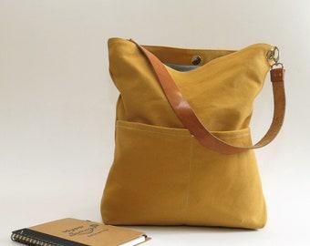 2bffb11c83 Mustard Yellow Hobo bag