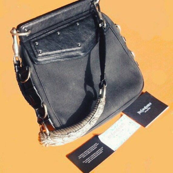 9124c27482 MOMBASA YSL bag Yves Saint Laurent bag shoulder bag black