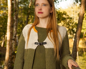 Natural vest and trend, made in France
