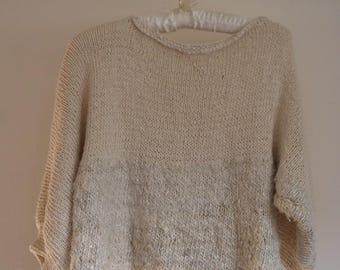 Natural bat sweater mouse made in France