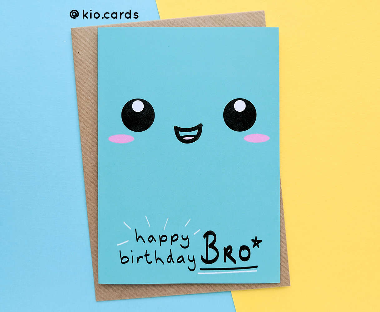 Brother Birthday Card Gift Ideas To My Big