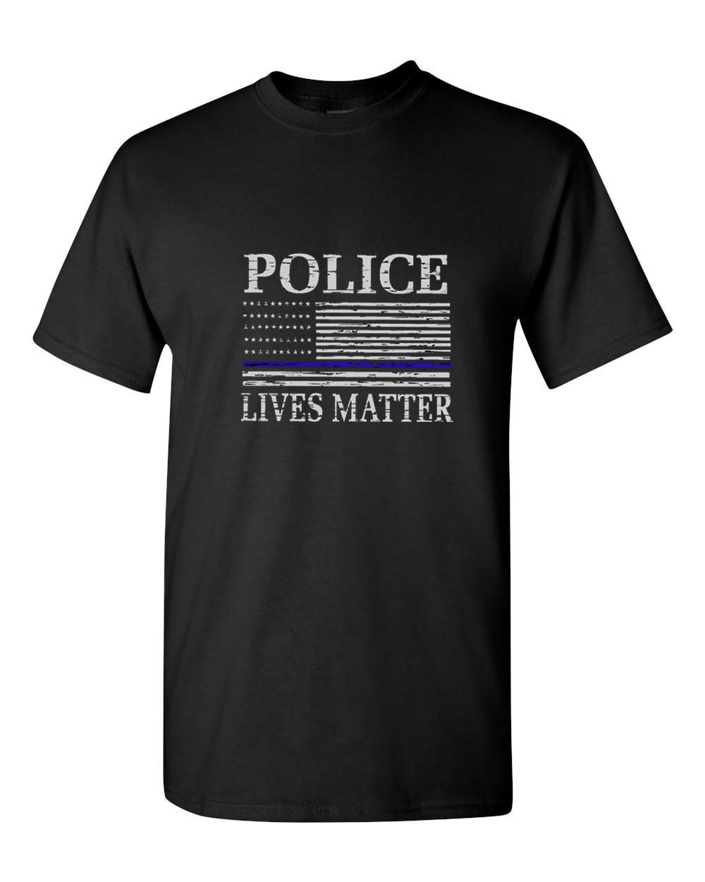 Youth Thin Blue Line Police Flag Black kids Sweatshirt Hoodie