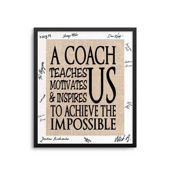 Coach Gift Ideas Basketball Coach Gift Soccer Coach Gift
