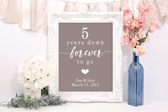 Five Year Wedding Anniversary Gifts: 5 Year Anniversary Gifts For Men 5th Wedding Anniversary