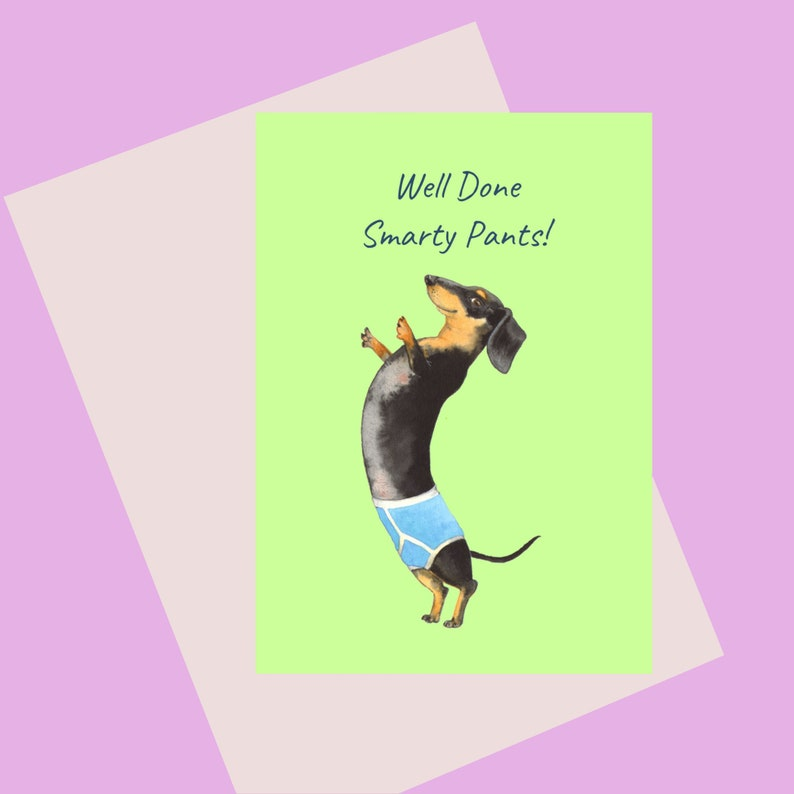 Smarty Pants A6 congratulations Card for those who love image 0