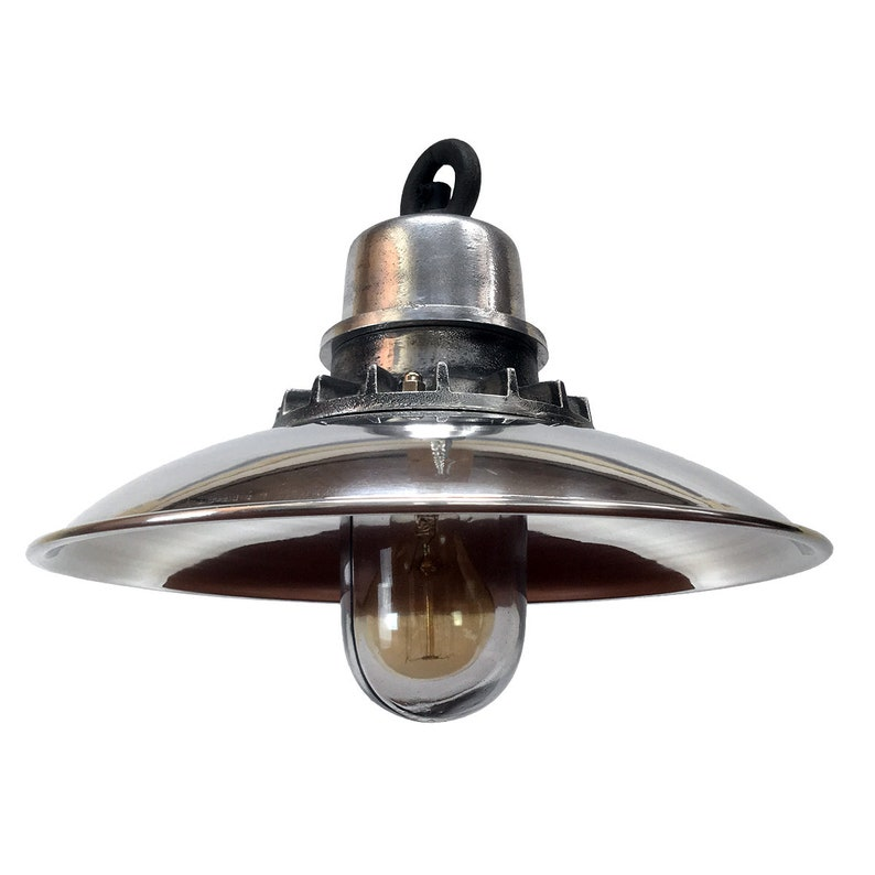 Aluminium U0026 Steel Nautical Pendant Light