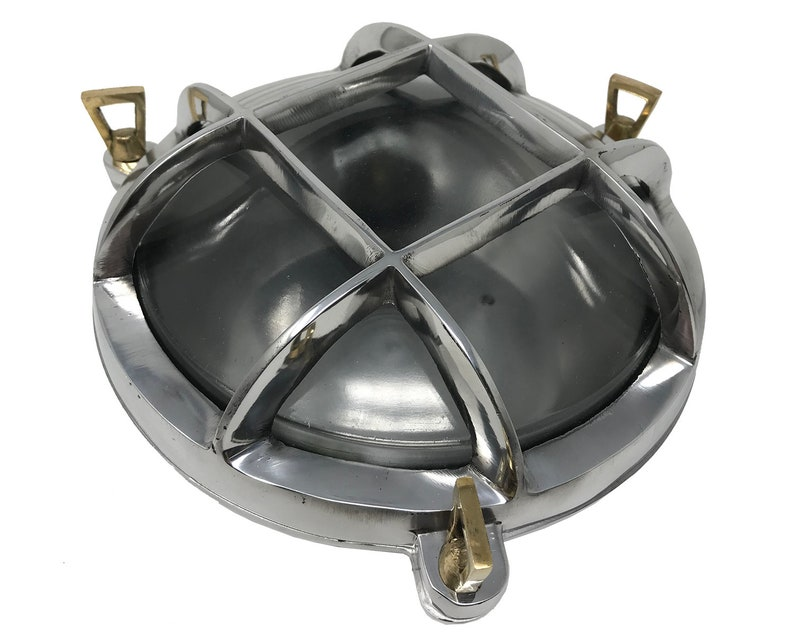Plafoniere Ottone Stile Nautico : Acquista borda applique da esterno in stile marinaro lampade
