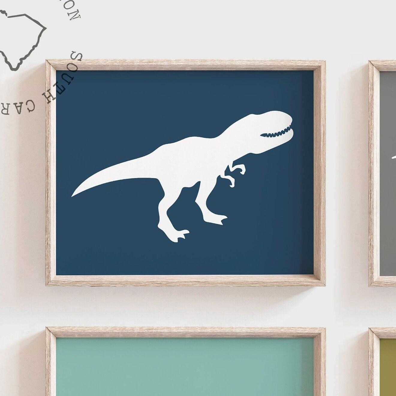 boys dinosaur bedroom wall art dinosaur decor for boys