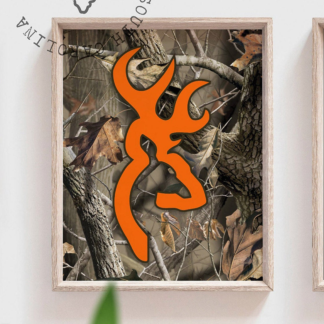 Brown and orange camouflage, realtree nursery, hunting ...