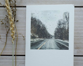 blank greeting cards, greeting card, april showers