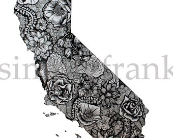 California Black and White
