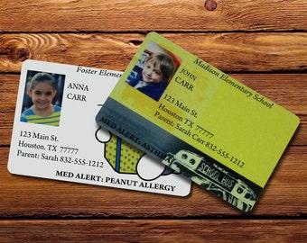 Kids Custom ID Card