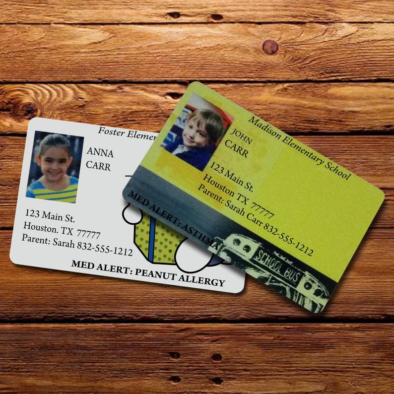 Kids Custom ID Card image 0