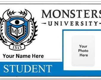 Monster University Card