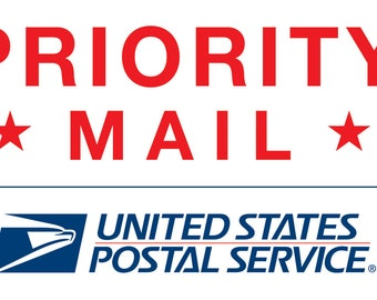 USPS Priority Mail or Express