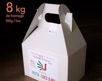 Ricotta and Queso Blanco KIT Ricotta and Queso Blanco. Cheese Making KIT cheese House. U hand kits