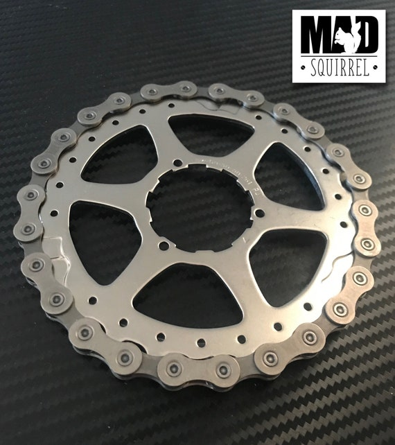 Larger Bicycle Chain and Sprocket Drinks Coaster/Trivet
