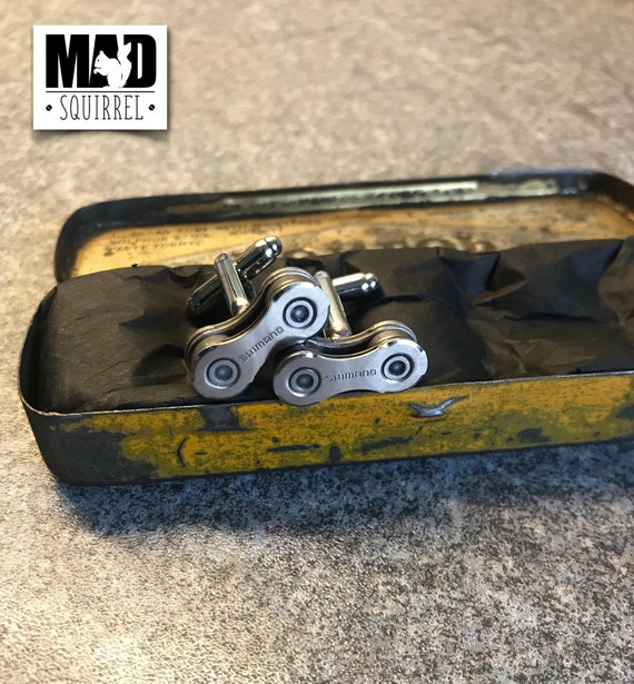 Limited Edition Dunlop Puncture Repair Tin with Shimano Cufflinks