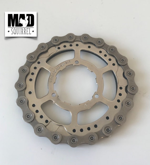 Bicycle Chain and Sprocket Drinks Coaster
